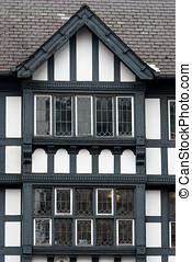 CHESTER, Medeltida, arkitektur,  England