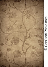 Vintage wallpaper background - Floral vintage wallpaper...