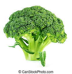 Broccoli - Brocoli isolated on white background