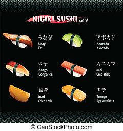 Nigiri sushi V