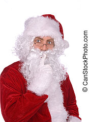 Santa Claus says......Shhhhhhhhhhhh