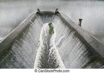 dam spillway , Thailand