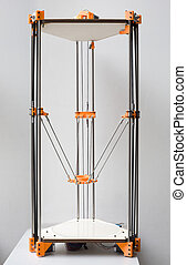 3D Printer Assembly - Open Source Delate 3D Printer Assembly