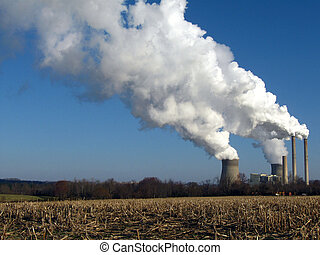 smoke stack III - Power Plant