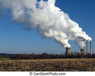 smoke stack III - Power Plant