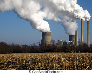 Smoke Stacks II - power plant