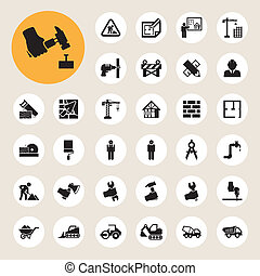 icon 08 - Business and finance icon setIllustration eps10