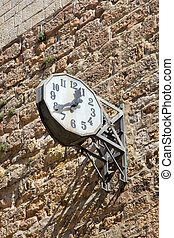 Limoux church clock (France)