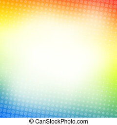 Abstract dotted background - Abstract dotted colorful...
