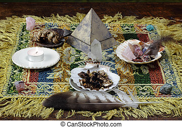 metaphysical shamanic Mesa - mesa metaphysical altar and...
