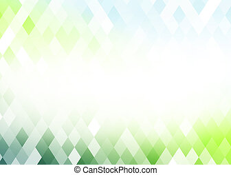 Abstract gradient rhombus background - Abstract gradient...