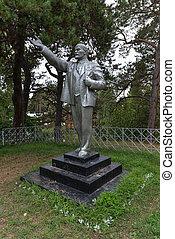 Lenin, plata, monumento