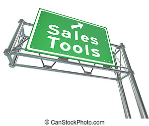 Sales Tools Road Freeway Sign Selling Techniques - Sales...