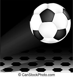 soccer ball on wing