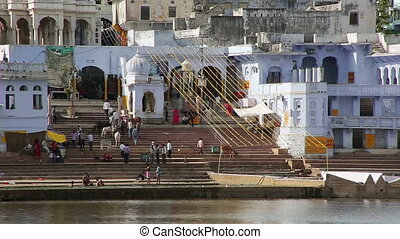 View of Pushkar, Rajasthan, India