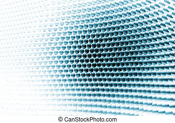 Abstract pattern - Blue digital abstract futuristic pattern