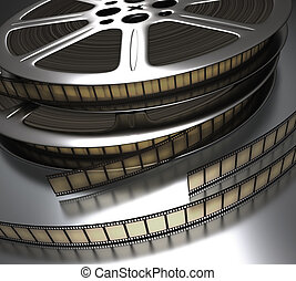 Filmstrip - Concept of Industry cinematographic.