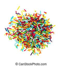 Palanquetas, Decorar, coloreado, azúcar