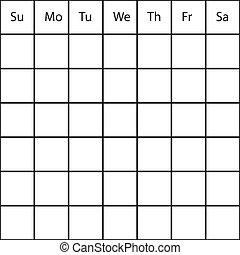 HUGE week month generic PLANNER