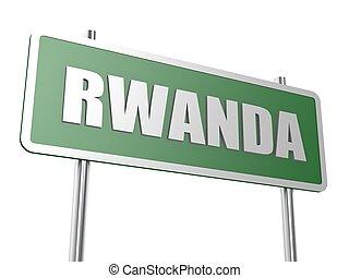 Rwanda - Hi-res original rendered computer generated...