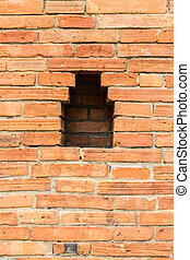 Olde Brick Wall , City wall in Chiangmai