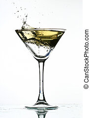 alcohol splash - alcohol martini splash mixed cocktail