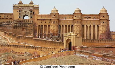 View of Amber Fort in Jaipur India