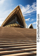 opera house - view of the opera house in sydney, australia