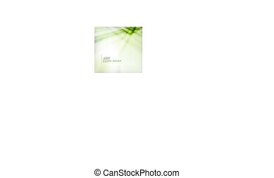 Green blur abstract vector background
