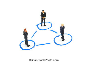 networking business people