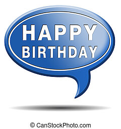 happy birthday congratulations and celebrate with a big...