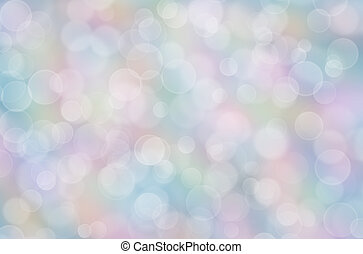 Abstract pastel rainbow background with boke effect