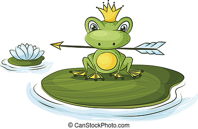 princess frog - frog princess fairy tale character is...