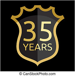 Golden shield 35 years