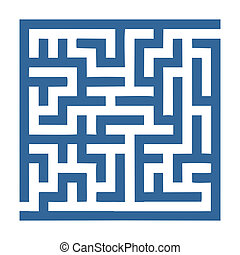 labyrinth - small labyrinth that is easy to solve for...