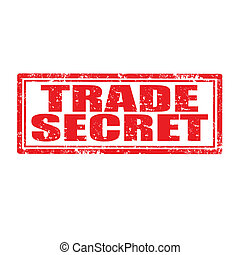 Trade Secret-stamp - Grunge rubber stamp with text Trade...