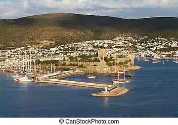 Bodrum Castle - Bodrum Town and Castle in Turkey