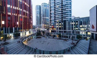 Sanlitun Soho Shopping Center in Beijing, China