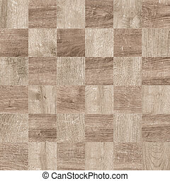 Wood Mosaic Texture Background HighRes