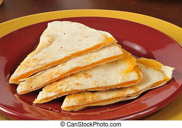 queso, Quesadillas