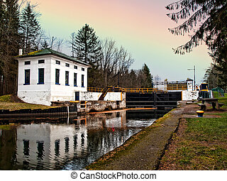 erie canal in Clay, New York