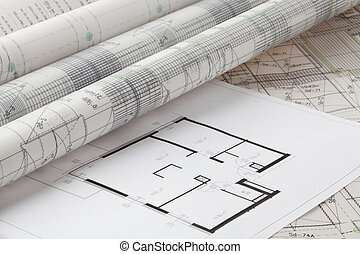 Projects - Project of a new house made by an architect