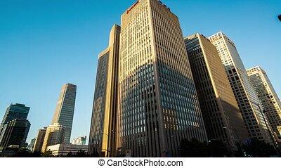CBD building in Guomao,Beijing - CBD buildings in Guomao,...