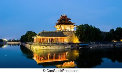 Twilight at Forbidden City