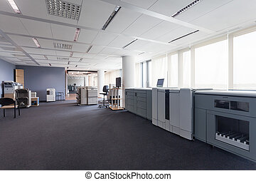 Printers - Printing appliances in business office, plotters