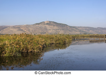 Hula Nature Reserve in Israel