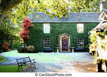English Country Cottage - An image of an english country...