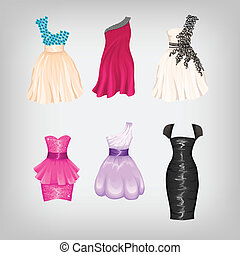 Set of gorgeous dresses - Set of dorgeous party dresses