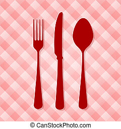 Red Kitchen Cutlery
