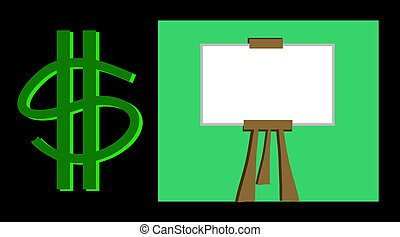 Money Board with Easel